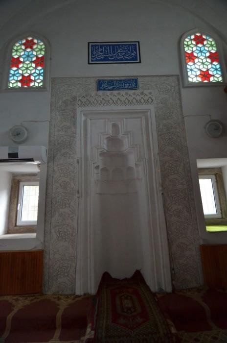 Mihrab w meczecie Mezit Bey (Yeşilce) w Edirne