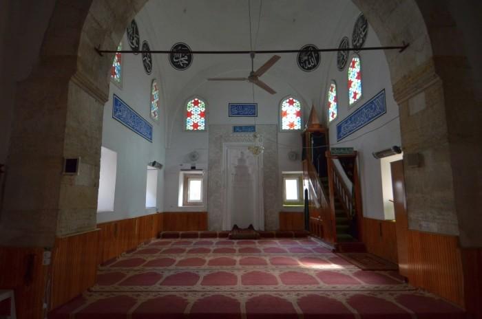 Wnętrze meczetu Mezit Bey (Yeşilce) w Edirne