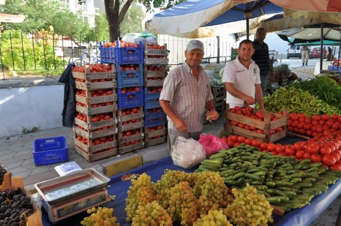 Bazar w Gelibolu