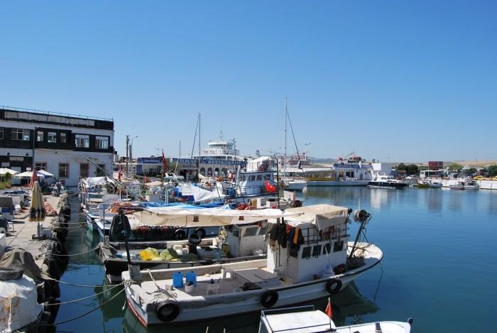 Port i restauracja Ilhan w Gelibolu