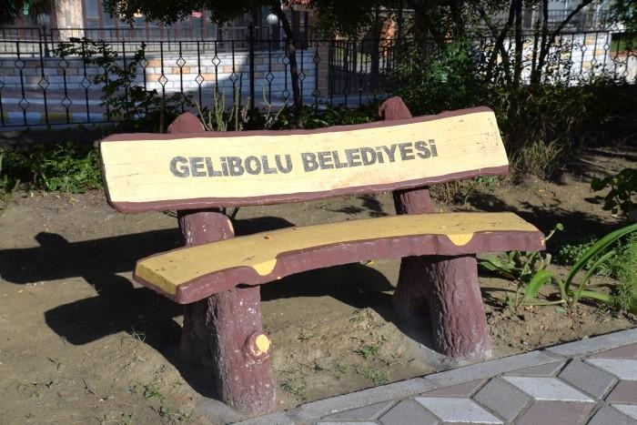 Ławka w Gelibolu