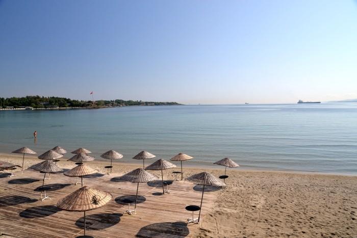 Plaża w Gelibolu