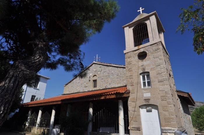 Kościół w miasteczku Gökçeada