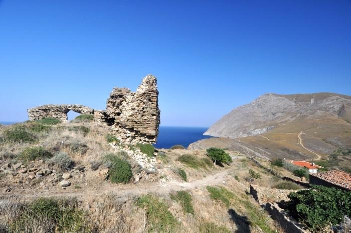 Widok na wyspę Gökçeada