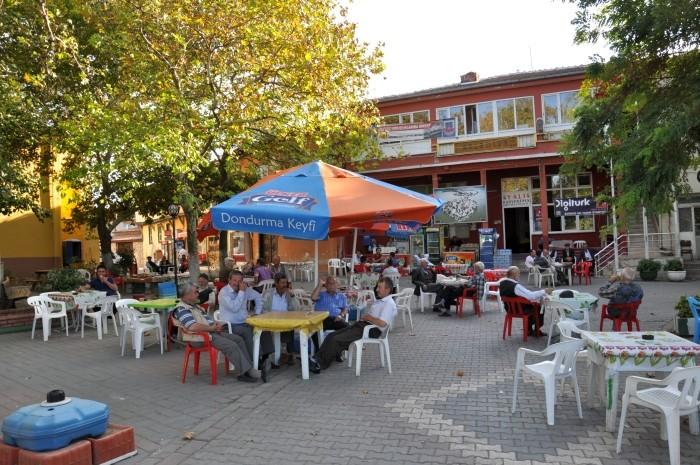 Leniwe, jesienne popołudnie w Gölyazı