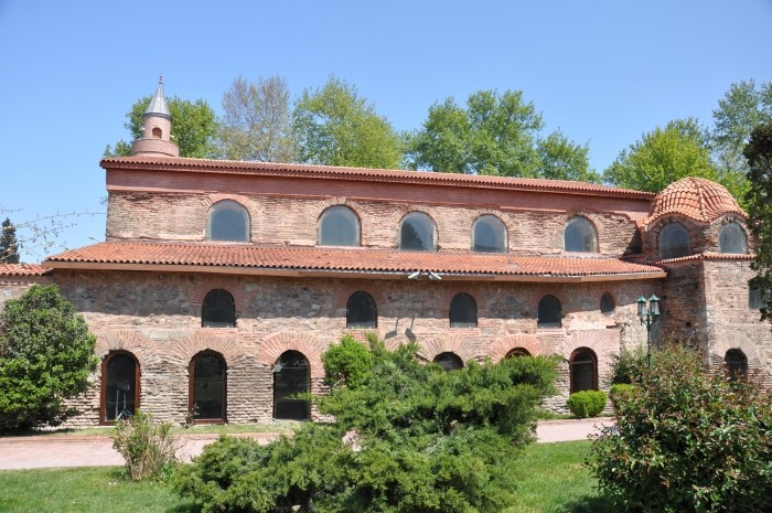 Budynek dawnego kościoła Hagia Sophia w Izniku