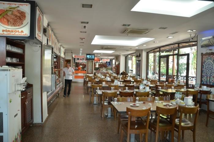 Restauracja Köfteci Yusuf w Izniku