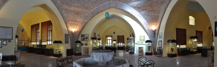 Wnętrze Muzeum Kafli
