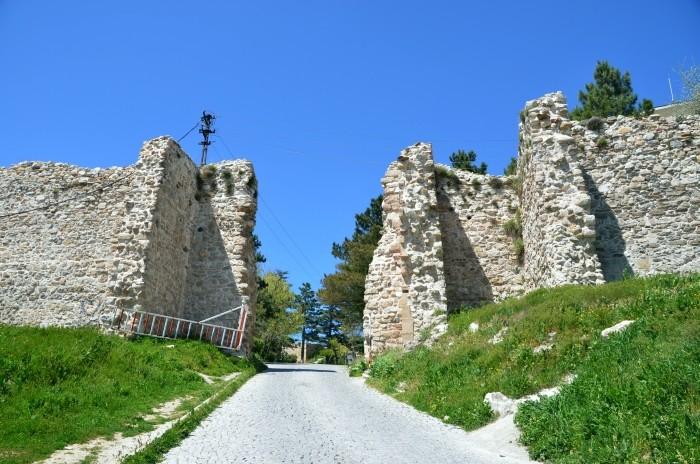 Brama do wewnętrznej twierdzy w Kütahyi