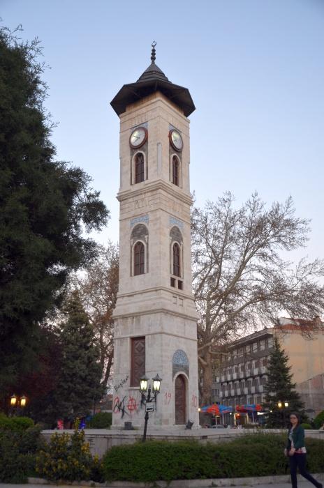 Wieża Zegarowa w Kütahyi