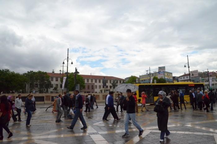 Deszczowe popołudnie w Malatyi