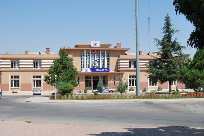 Dworzec kolejowy w Malatyi