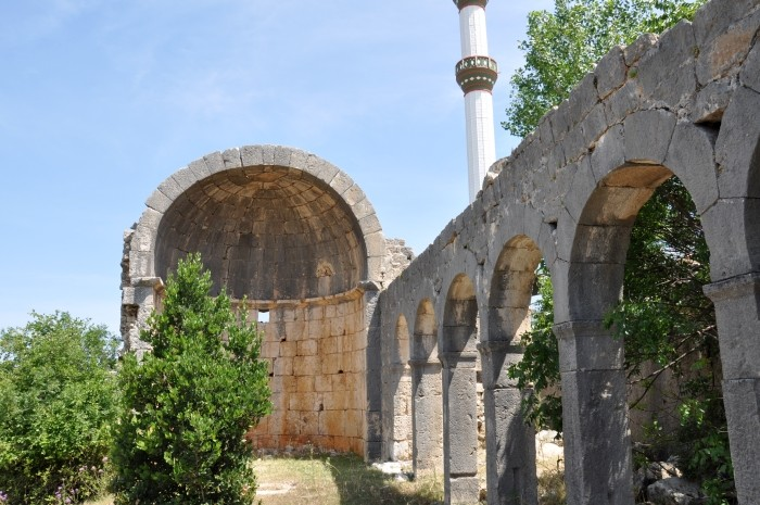 Ruiny kościoła z Hasanaliler