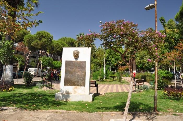 Park w centrum Ödemiş