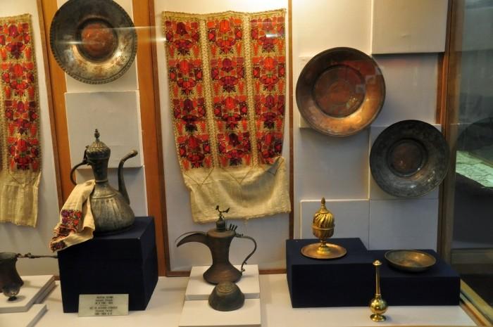 Naczynia i przybory kuchenne z okresu osmańskiego