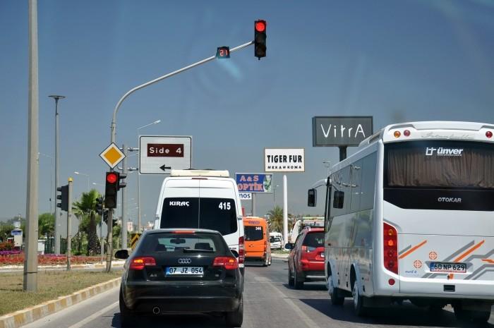 Trasa dojazdowa do Side