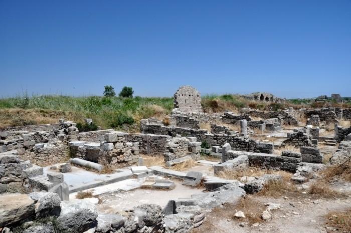 Ruiny tzw. domu z perystylem w Side
