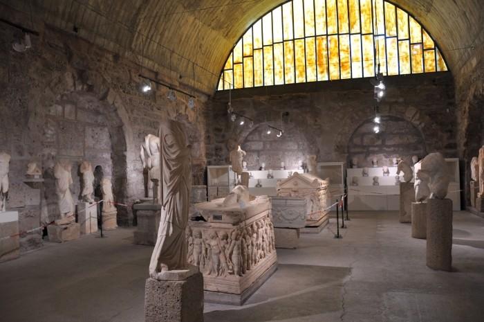 Wnętrze muzeum
