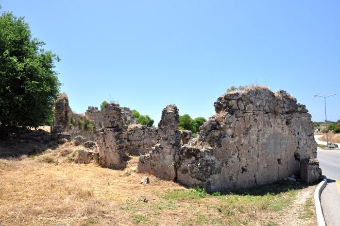 Ruiny antycznego Side