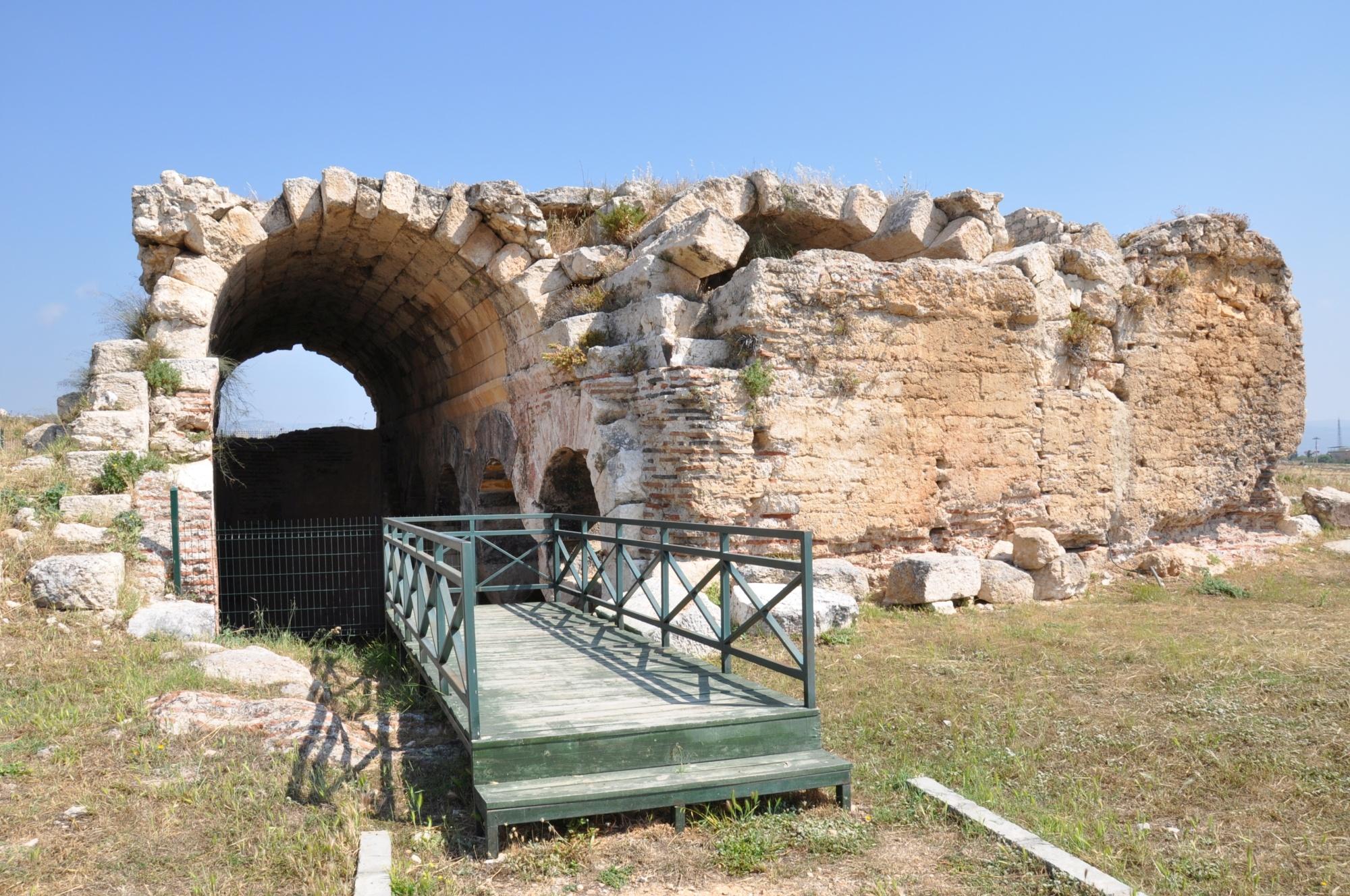 Kościół świętej Tekli w Silifke - cysterna