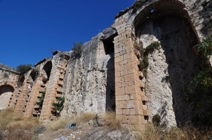 Bizantyjskie cysterny w Silifke