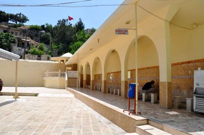 Dziedziniec meczetu Alaaddin w Silifke