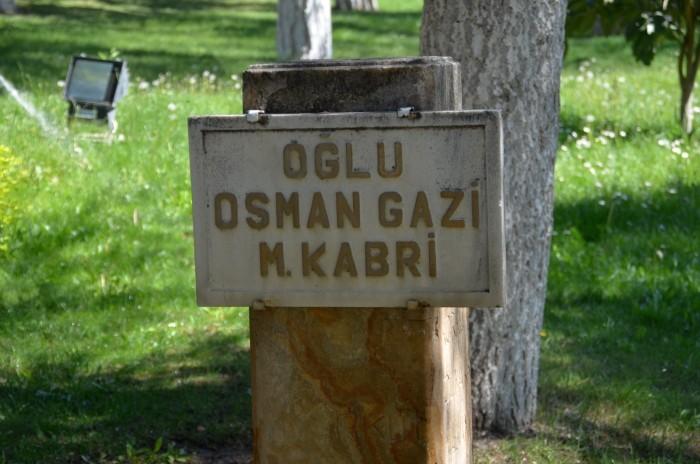 Symboliczny nagrobek sułtana Osmana