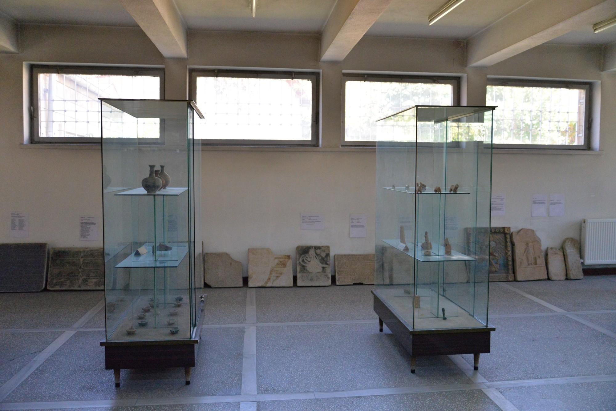 Wnętrze muzeum w Ürgüp
