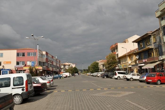 Główna ulica w Yenice