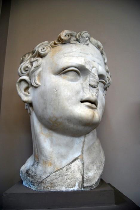 Głowa cesarza Dioklecjana