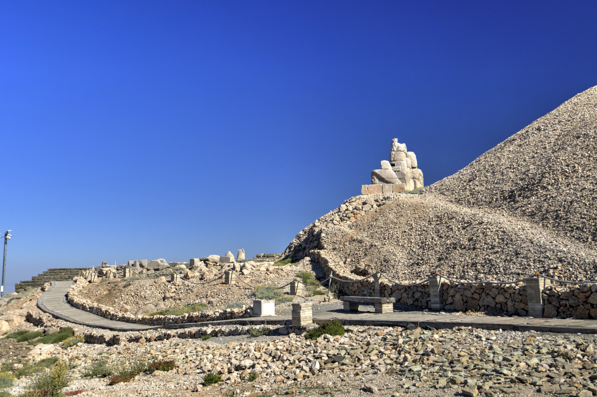 East Terrace on Mount Nemrut
