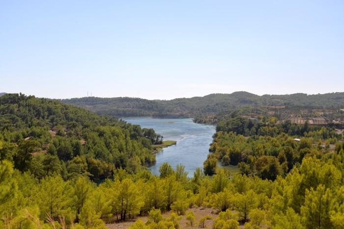 Jezioro zaporowe Manavgat