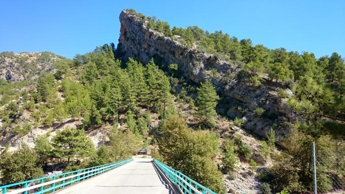 Most nad rzeką Manavgat