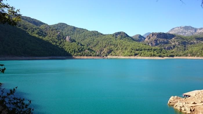 Zbiornik zaporowy Oymapınar