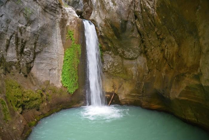 Wodospad w kanionie Sapadere