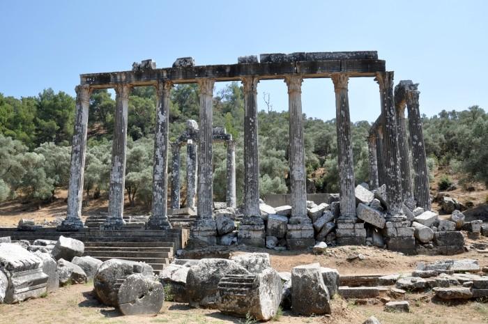 Świątynia Zeusa w Euromos