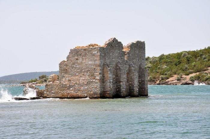 Wieża bizantyjska w Iasos