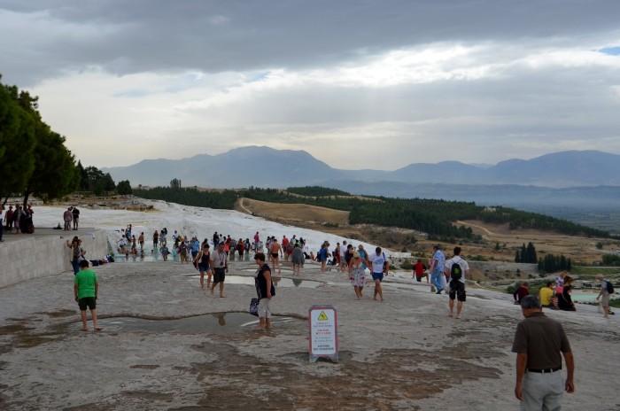 Pamukkale to jedna z największych atrakcji turystycznych w Turcji