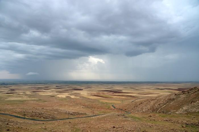 Widok z klasztoru Mor Augin