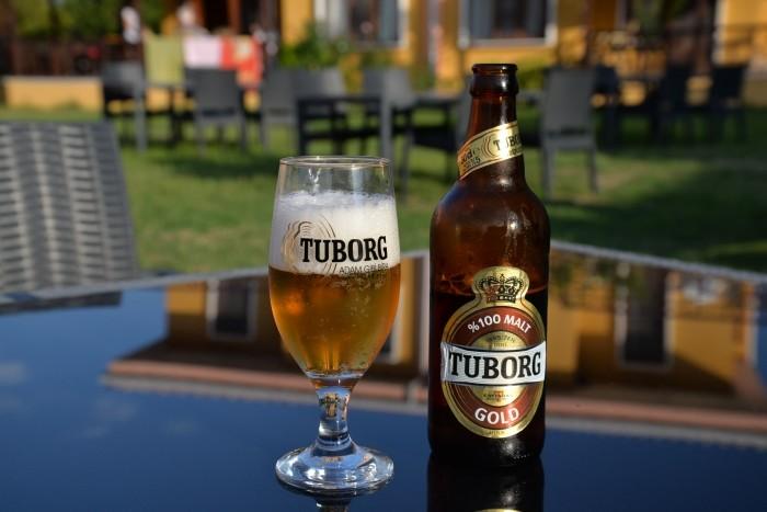 Licencyjne piwo Tuborg