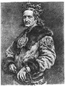 Król Władysław Jagiełło - wg Jana Matejki