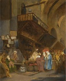 Bazar w Konstantynopolu - Stanisław Chlebowski