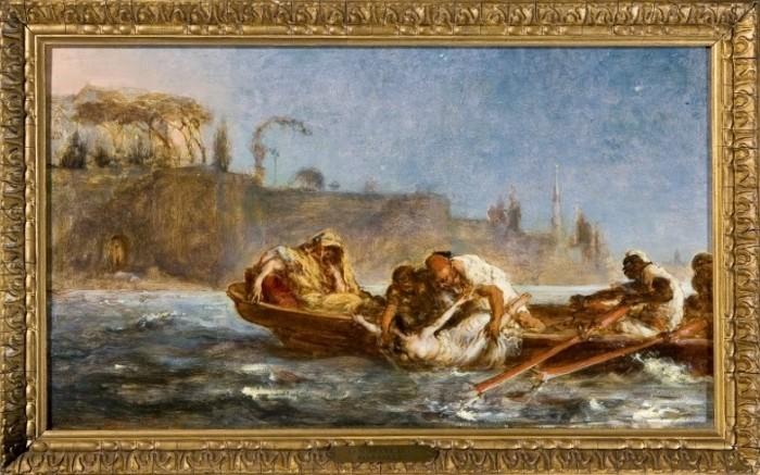 Utopiona w Bosforze (1872) - Jan Matejko