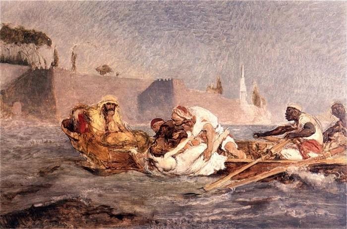 Utopiona w Bosforze (1880) - Jan Matejko