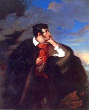 Walenty Wańkowicz, Portret Adama Mickiewicza na Judahu skale