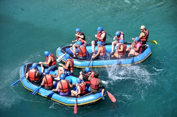 Rafting na rzece Köprülü