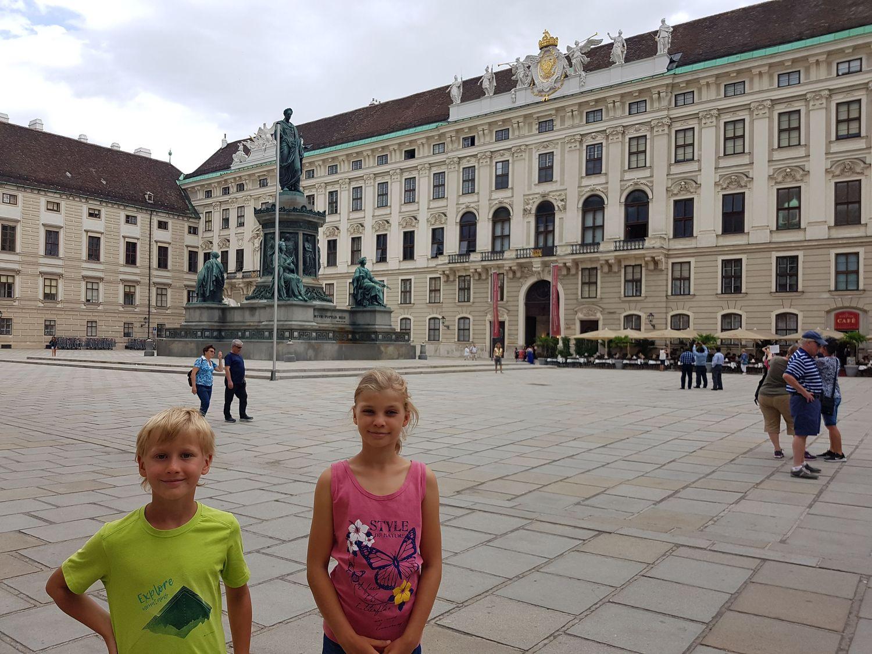 Tola i Staś w Wiedniu