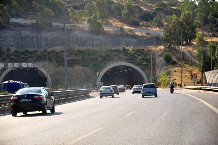Wjazd autostradą do Izmiru