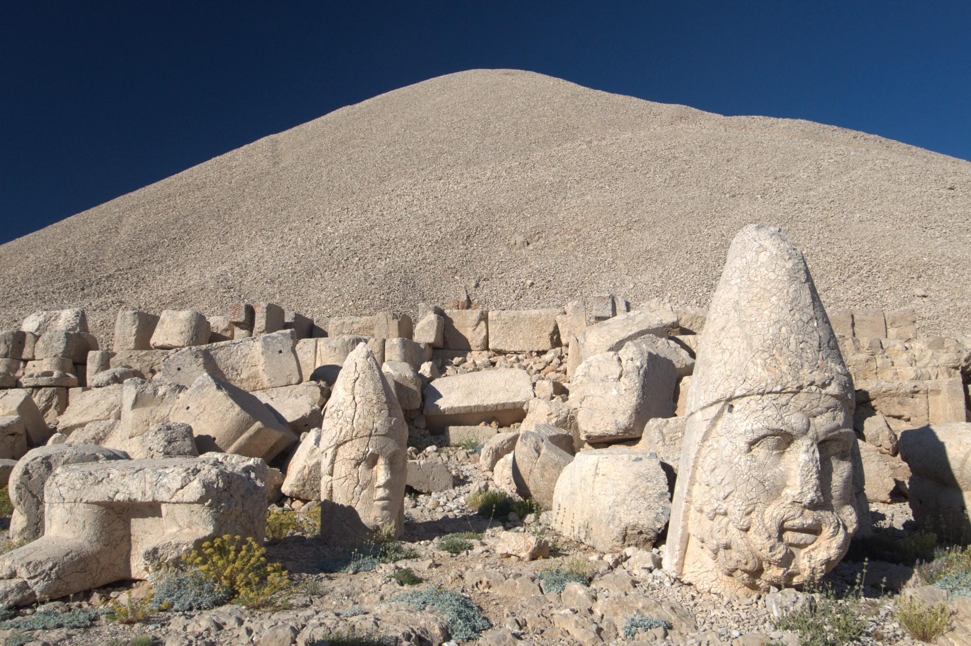 Jedno z tysiąca zdjęć z góry Nemrut