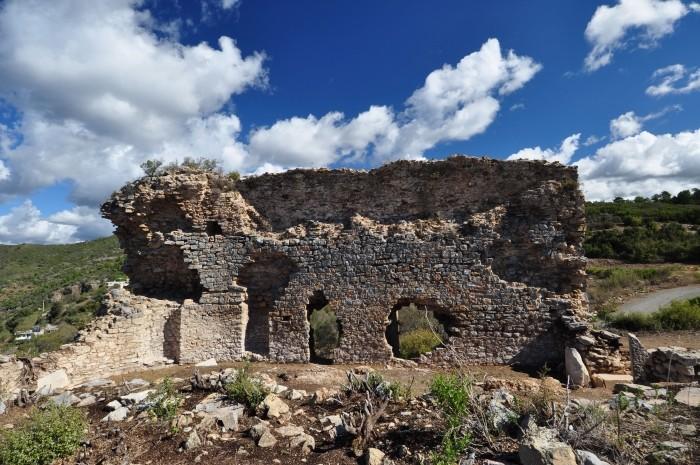 Budynek łaźni rzymskich w Antiochii ad Cragum